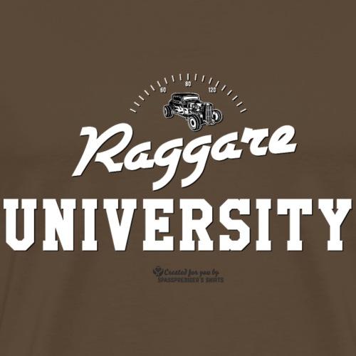 Raggare University - Männer Premium T-Shirt