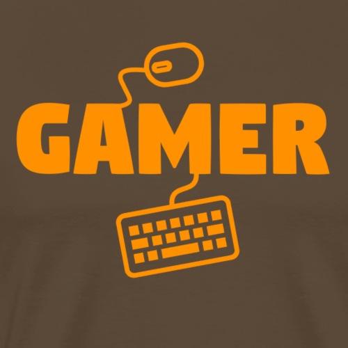 Gamer - Maglietta Premium da uomo