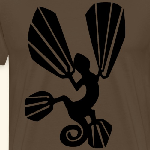 Cameleon - Männer Premium T-Shirt