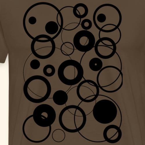 circle let's conect - Männer Premium T-Shirt