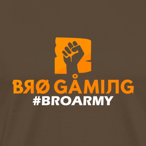 BROGAMING - #BROARMY - T-shirt Premium Homme