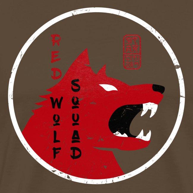 red wolf vintage grunge