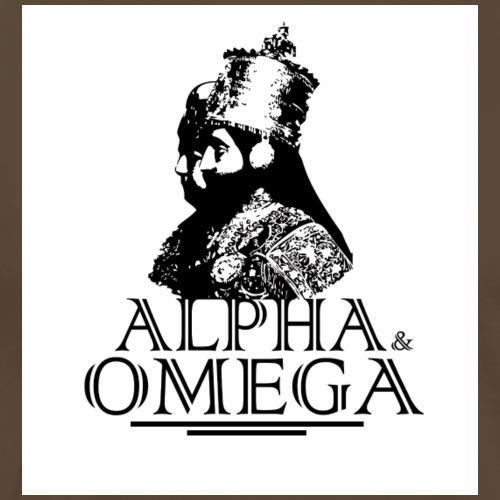 EmpressMenenHaileSelassie png - Männer Premium T-Shirt