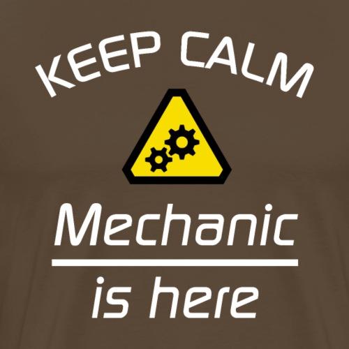 Keep Calm - Mechaniker - Männer Premium T-Shirt