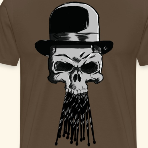 killer drum sticks - Männer Premium T-Shirt