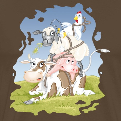 eierlegende Wollmilchsau - Männer Premium T-Shirt