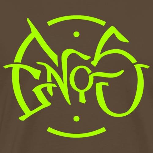 Enos Logo - Men's Premium T-Shirt