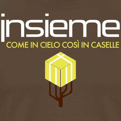 Insieme Caselle Logo - Maglietta Premium da uomo
