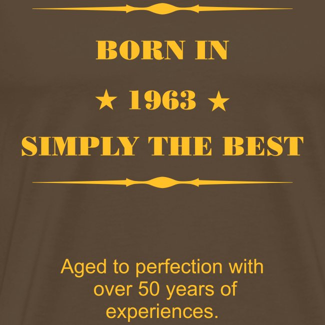 1963 - simply the best