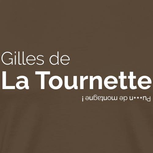 Gilles de La Tournette - T-shirt Premium Homme