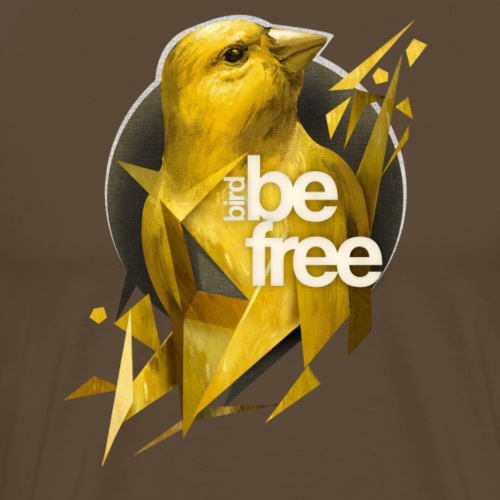bird - Camiseta premium hombre