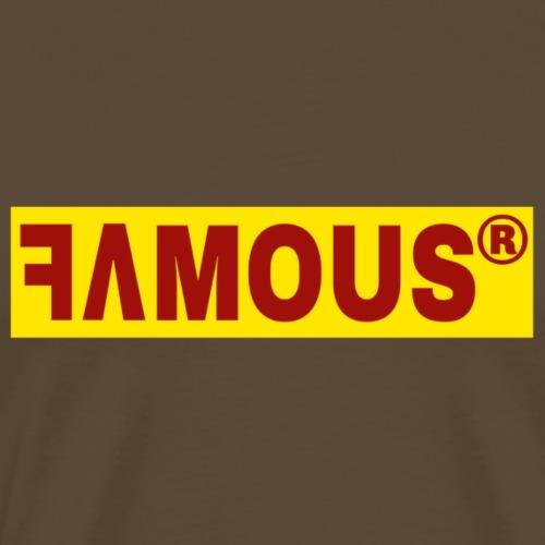 Famous v2 Design - T-shirt Premium Homme