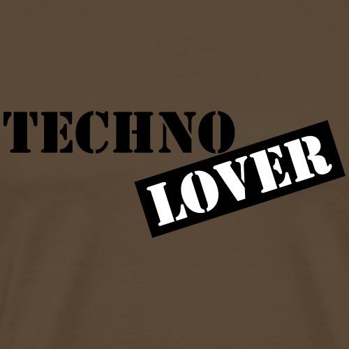 techno lover - Männer Premium T-Shirt