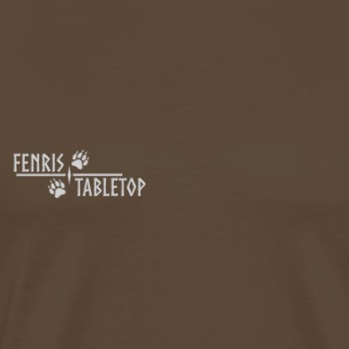 Fenris - White text - Herre premium T-shirt