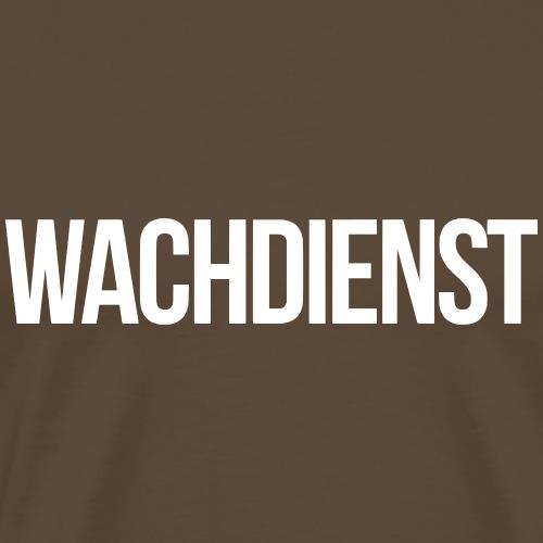 WACHDIENST vector - Männer Premium T-Shirt