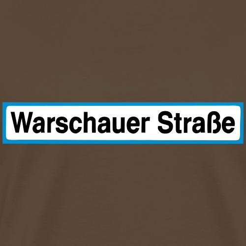 Warschauer Straße Berlin - Koszulka męska Premium