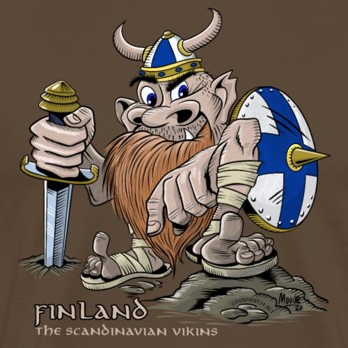 FINLAND VIKING T-paidat, tekstiilit ja lahjaideat - Miesten premium t-paita