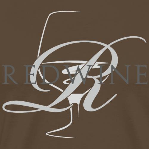 RED WINE - Maglietta Premium da uomo