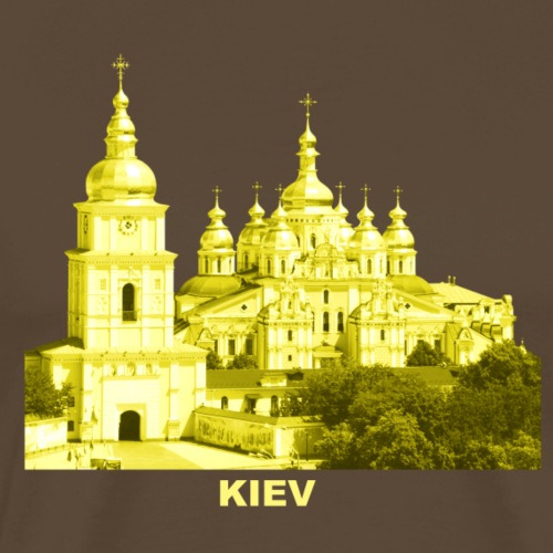 Kiev Kiew Ukraine Sophienkathedrale Kirche - Männer Premium T-Shirt