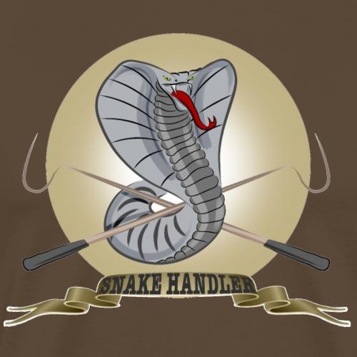 snake keeper - Männer Premium T-Shirt