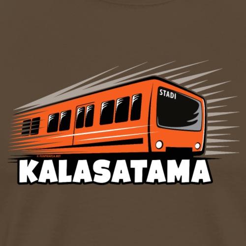 11- METRO KALASATAMA - HELSINKI - LAHJATUOTTEET - Miesten premium t-paita
