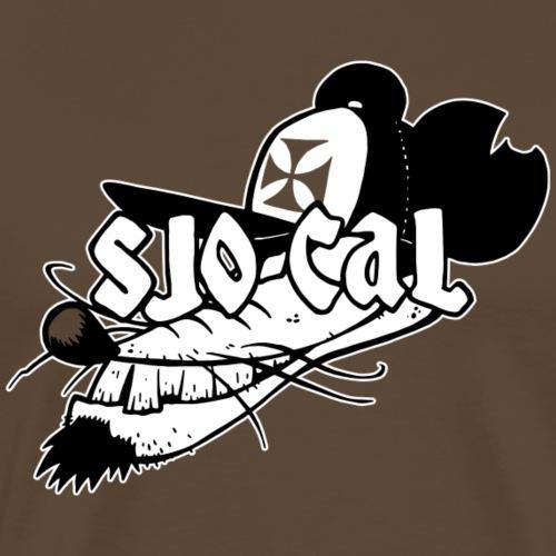 Sjo-Cal Rat - Mannen Premium T-shirt