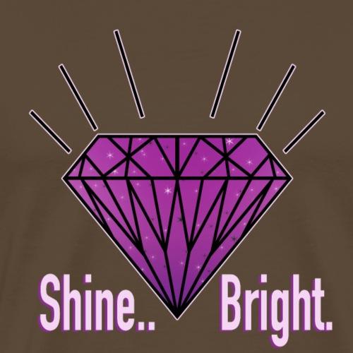 Shine Bright - Männer Premium T-Shirt