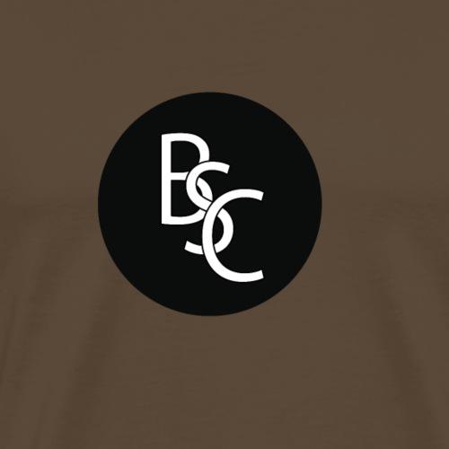 Round BSC Logo - Men's Premium T-Shirt