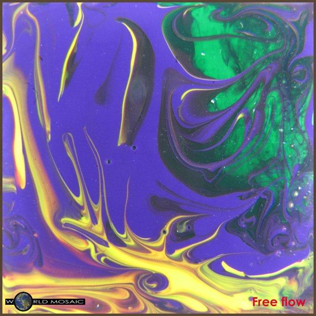TIAN GREEN Mosaik DK010 - Free flow