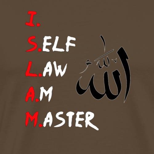 Islam Maurisch Allah Ramadan Mekka Gift Geschenk - Männer Premium T-Shirt