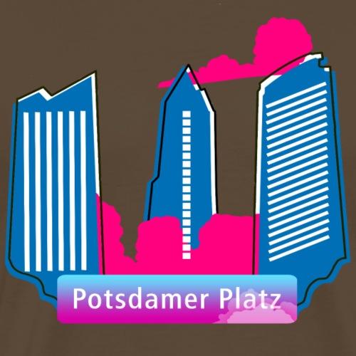 .Potsdamer Platz Wolkenkratzer