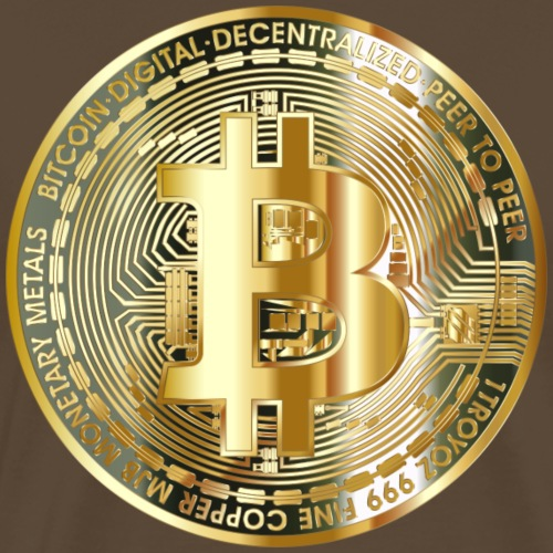 bitcoin for everyone - Männer Premium T-Shirt