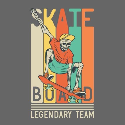 Skateboard 10 - Maglietta Premium da uomo