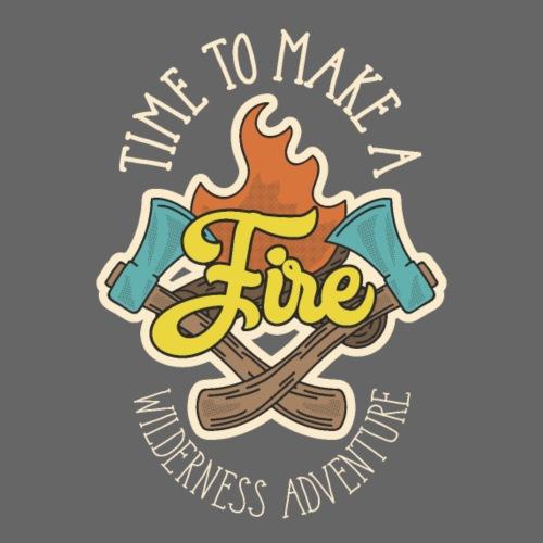 adventure font 5 - Maglietta Premium da uomo
