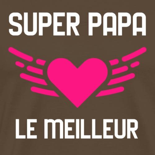fête des papas - T-shirt Premium Homme