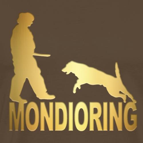 Mondioring Gold - Männer Premium T-Shirt