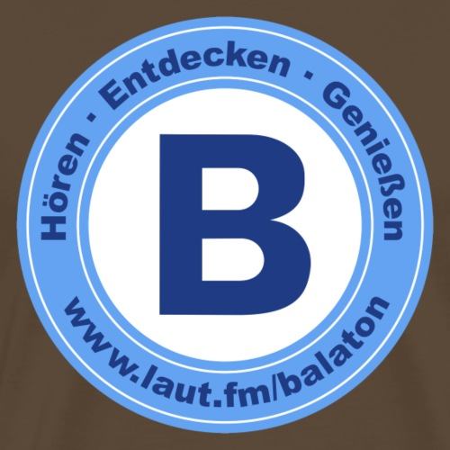 Webradio Balaton - Männer Premium T-Shirt