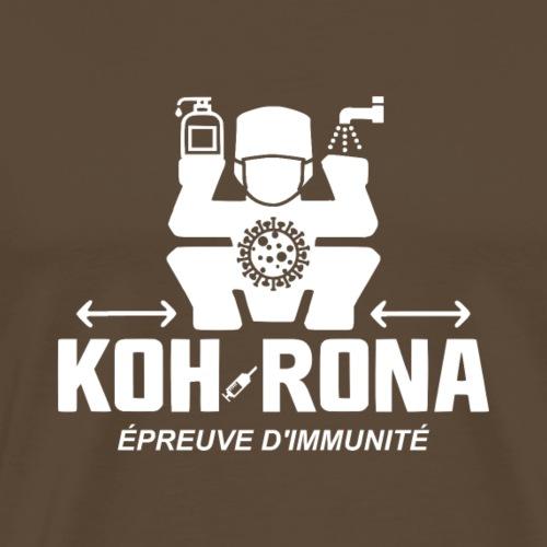 KOH-RONA, L'ÉPREUVE D'IMMUNITÉ ! - T-shirt Premium Homme