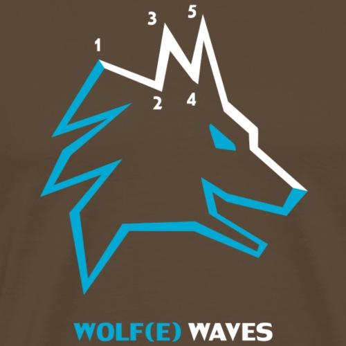 Wolf wave - T-shirt Premium Homme