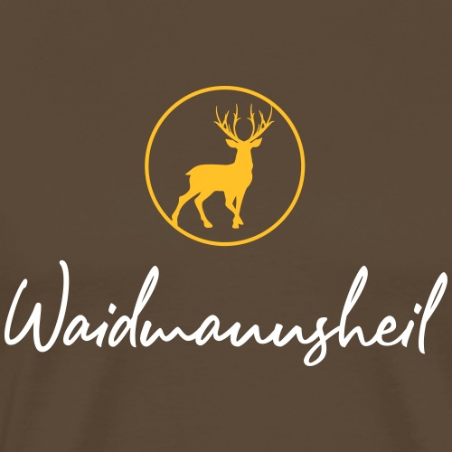 Waidmannsheil, ihr Jäger! Jäger Shirt Jaeger Shirt - Männer Premium T-Shirt