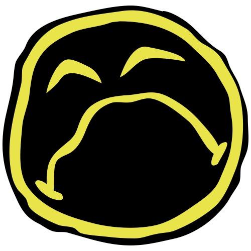 Droef Emoticon - Mannen Premium T-shirt