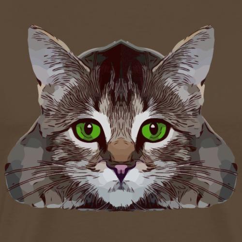 Katze 2 1 - Männer Premium T-Shirt
