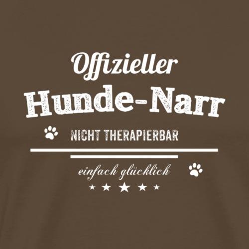 Offizieller Hundenarr.. - Männer Premium T-Shirt