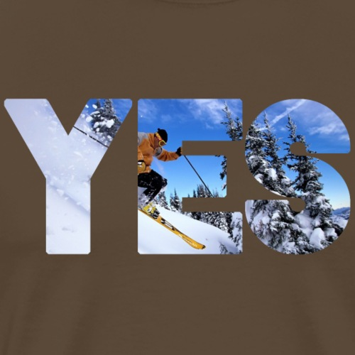 Wintersport - Männer Premium T-Shirt