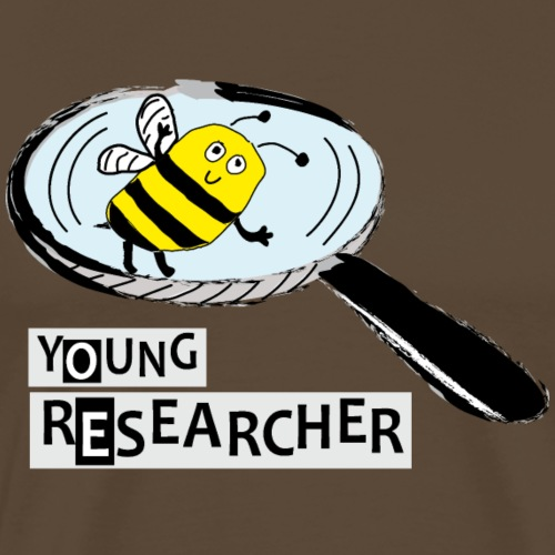 Young Researcher Bee - Männer Premium T-Shirt