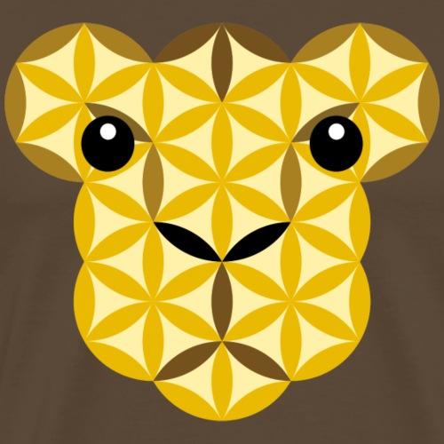 The Lion Cub Of Life - Big Cats, Sacred Animals - Men's Premium T-Shirt