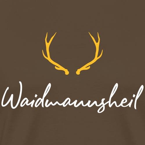 Waidmannsheil, ihr Jäger! Ein tolles Jägershirt! - Männer Premium T-Shirt