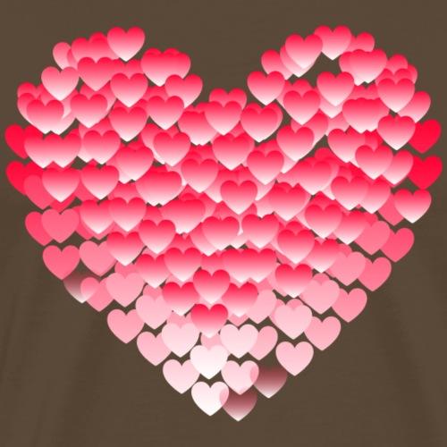 Serce z Serc - Koszulka męska Premium