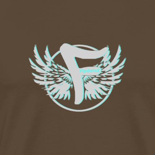 flydarez special logo blu - Mannen Premium T-shirt