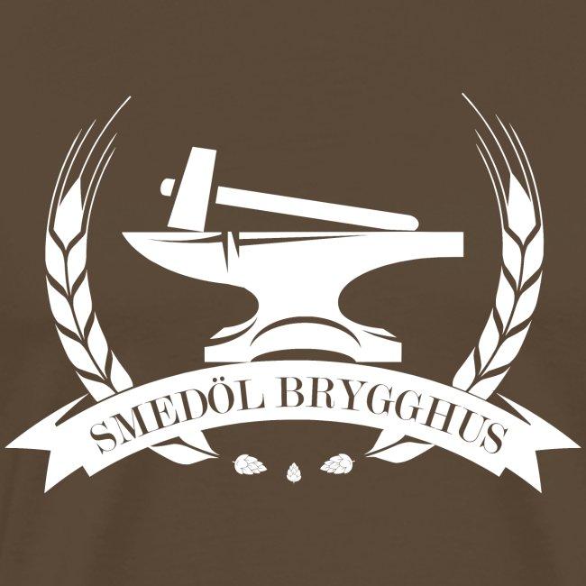 Smedöl Brygghus Logga Vit
